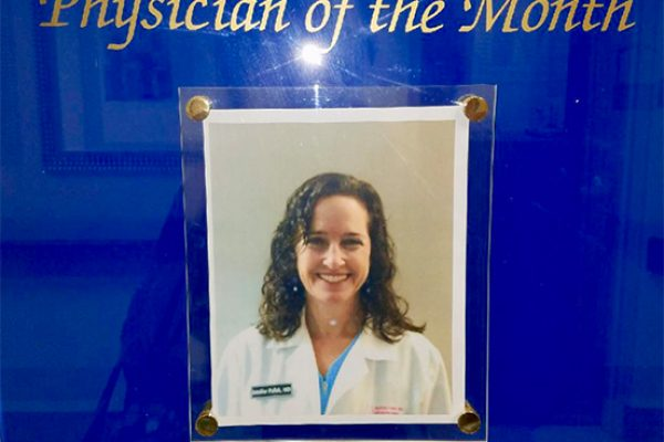 Physician of the Month